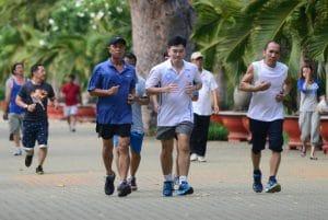 Người bị bệnh tiểu đường nên chạy bộ